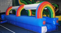 25' Rainbow Slip and Slide