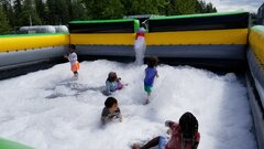 Caution Pit Foam Party