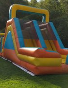 Dual Lane 16' High Slide