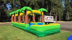 36' Dual Lane Tropical Slip and Slide
