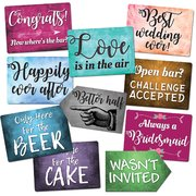 Wedding Prop Signs