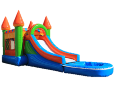 Kids Castle Combo Water Slide