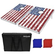 American Flag Bean Bag Toss Game Set
