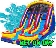 Water or Dry Slide Rentals