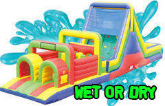Obstacle Course Rentals - Wet