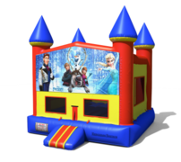 (C) Frozen Castle Bounce House