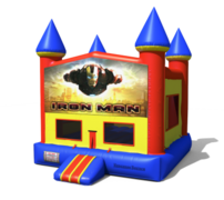 (C) Iron Man Castle Bounce House