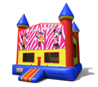 (C) Minnie Mouse Castle Bounce House