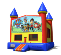 (C) Paw Patrol Castle Bounce House