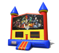(C) Star Wars Castle Bounce House