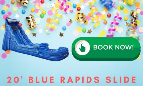 blue water slide rentals