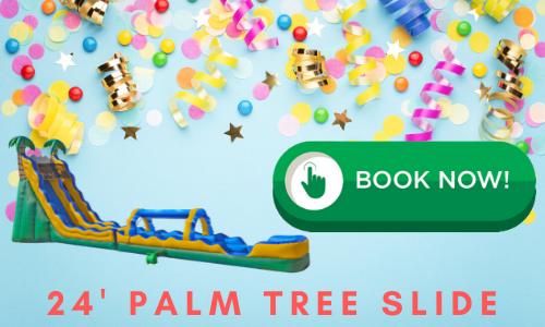 palm tree water slide rental