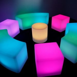 LED CHAIR SET