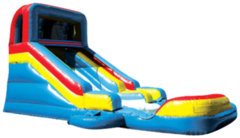 14' Slide n SplashBest for ages 6+ and Up |1 Outlet Needed Size 30 x 14 x 14