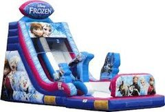 18' Frozen SlideBest for ages 6+ and Up |1 Outlet Needed Size 30 x 14 x 18