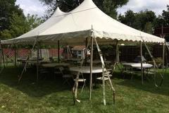 <font color=red><b>20x30 Pole Tent<br>