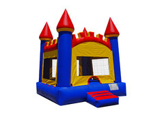 "<font color=red><b>Arched Castle <br></font></b><small>Best for ages 2+ and Up<font color=red> |</font><font color=""orange""><b>1 Outlet Needed</font><br><font color=blue> Size 15 x 15 x15</font>"