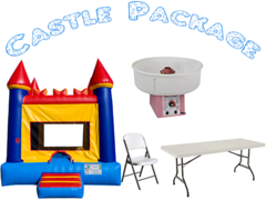 CASTLE PACKAGE- <font color=red><S>$220</S></FONT>