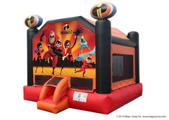 "<font color=red><b> INCREDIBLES 2 INFLATABLE <br></font></b><small>Best for ages 1 - 15<font color=red> |</font><font color=""orange""><b>1 Outlet Needed</font><br><font color=blue> Size 16 x 15 x14</font>"