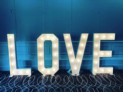 LOVE Letter Marquee Rental