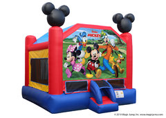 Mickey MouseBest for ages 2+ and Up |1 Outlet Needed Size 15 x 15 x15
