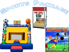 Sports Party Package <font color=red><S>$250</S></FONT>