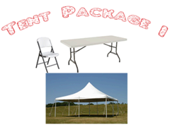 Tent Package-1<font color=red><S>$350</S></FONT>