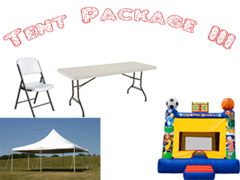 Tent Package-3 <font color=red><S>$555</S></FONT>