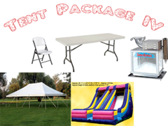 Tent Package-4 <font color=red><S>$850</S></FONT>