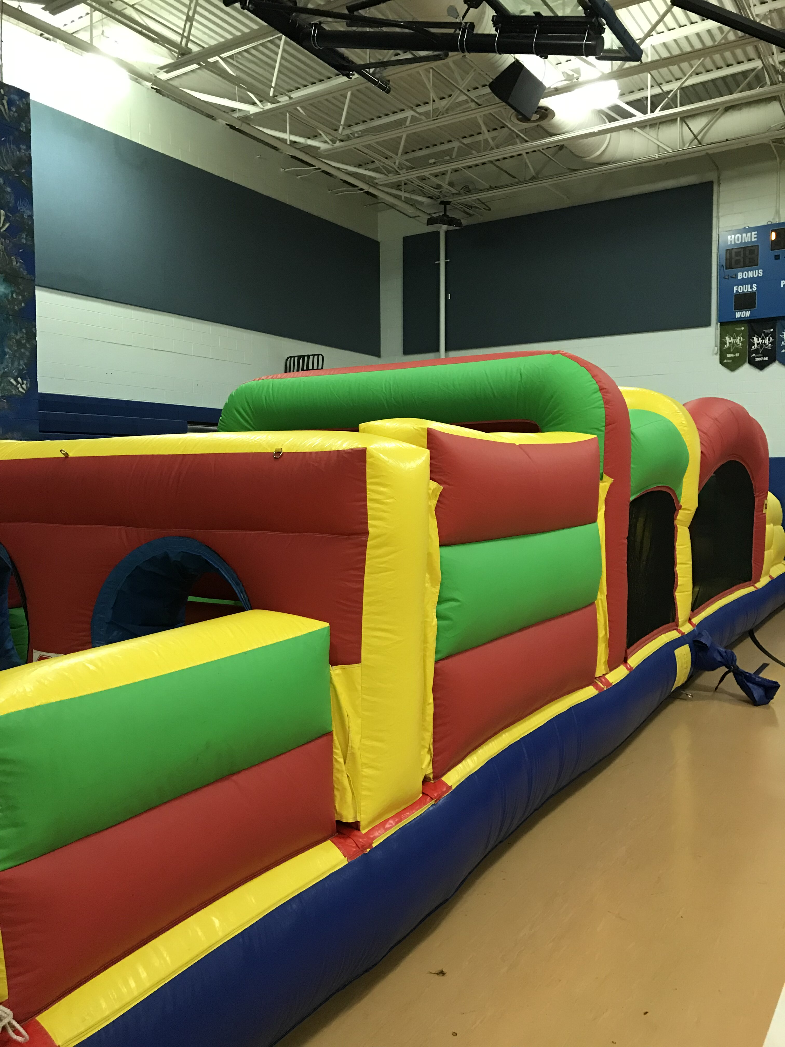 Obstacle Course Side View