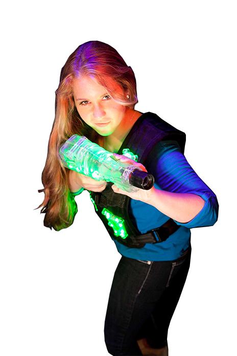 Laser Tag Game is not just for boys, girls are awesome too