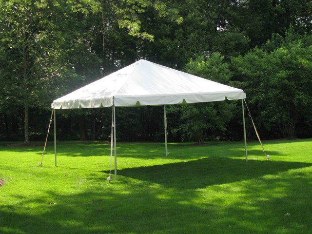 15 x 15 White Tent (no side walls)