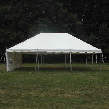 20 x 30 White Tent (no side walls)
