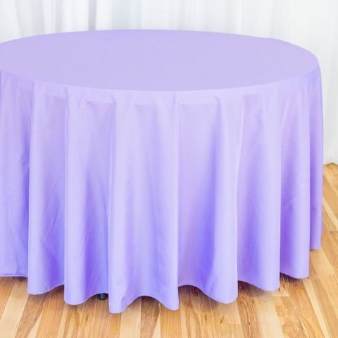 Lavender Round Table Cloth 120