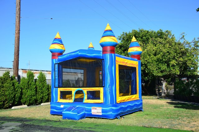 Melting Arctic Bounce House