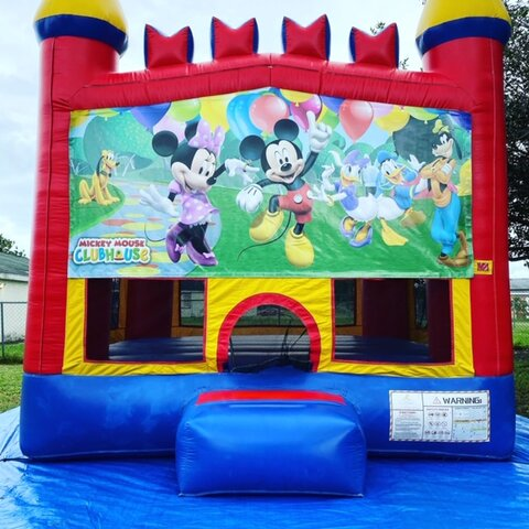 Mickey & Minnie Bounce House