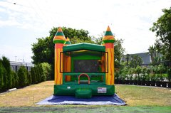 Amazon River Bounce House w/Basketball Hoop Inside $95Best for ages 4+ Space Needed 18 W x 18 D x 16 H