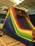 37 ft. Extreme Slide and Rock WallBest for ages 4+ Space Needed 37 L x 20 D x 16 H