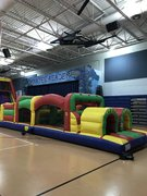 40 ft. Extreme Obstacle CourseBest for ages 4+ Space Needed 40 L x 20 D x 16 H