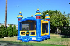 Melting Arctic Bounce House w/Basketball Hoop Inside $95Best for ages 4+ Space Needed 18 W x 18 D x 16 H