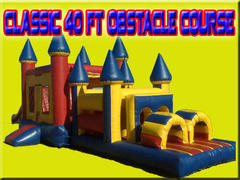 Classic 40 Foot Obstacle Course