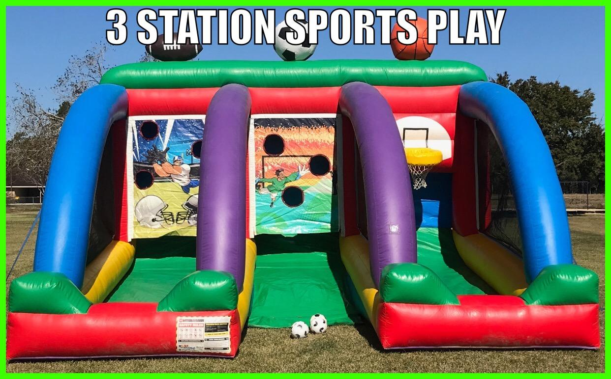 3 Station Sports Play Rental In Rayne La