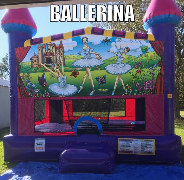 Ballerina Fun Jump Rental Youngsville LA