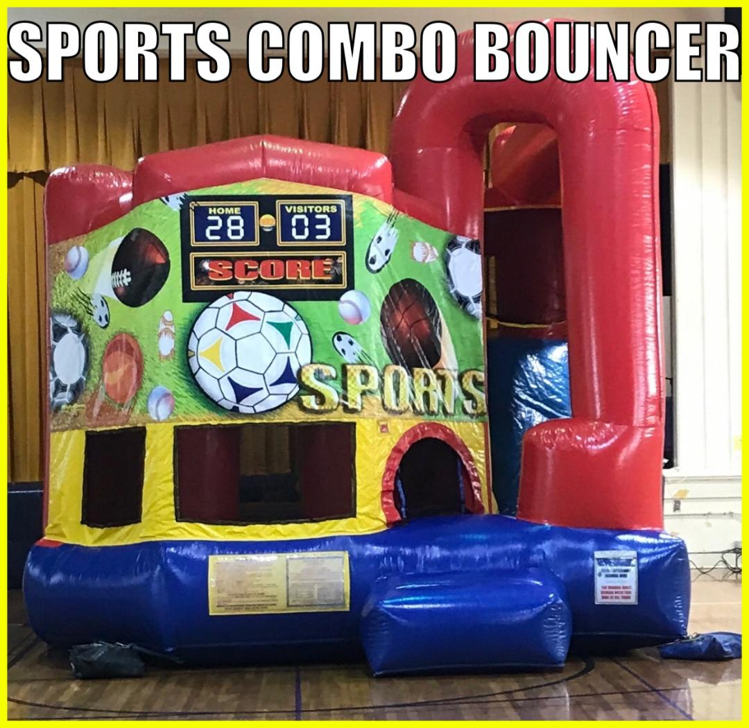 Indoor Inflatable Combo Bouncer Rental In Rayne Louisiana
