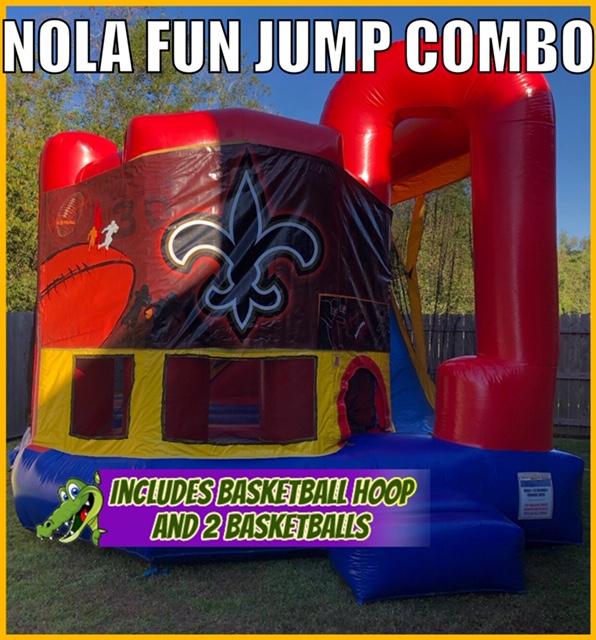 Nola Fun Jump Combo Rental Lafayette LA