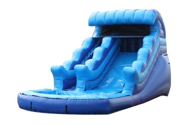 A 13' Lagna Jr water slide