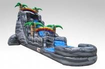 A 22 Ft Boulder Springs Water Slide With Pool