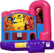 Incredibles 3N1 Inflatable Combo Fun Jump (Pink)