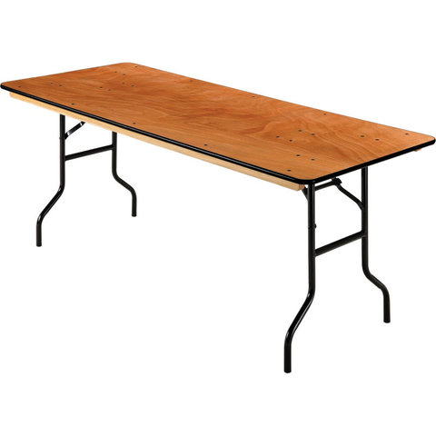 6 Ft Wooden Folding Tables