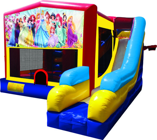 All Disney Princesses 7N1 Inflatable Combo Fun Jump